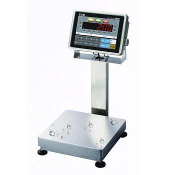 CAS CI200SC Waterproof Platform Bench Scale->CI-200S-LP-4560-150 / 45 x 60 CM / Up to 150 Kg / 10 gm
