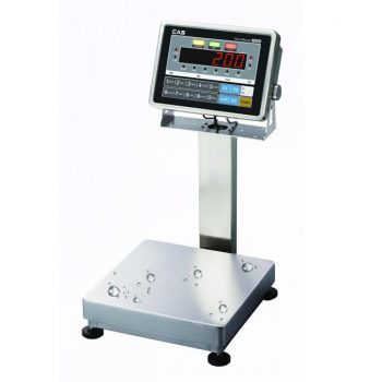 CAS CI200SC Waterproof Platform Bench Scale->CI-200S-LP-4560-300 / 45 x 60 CM / Up to 300 Kg / 20 gm