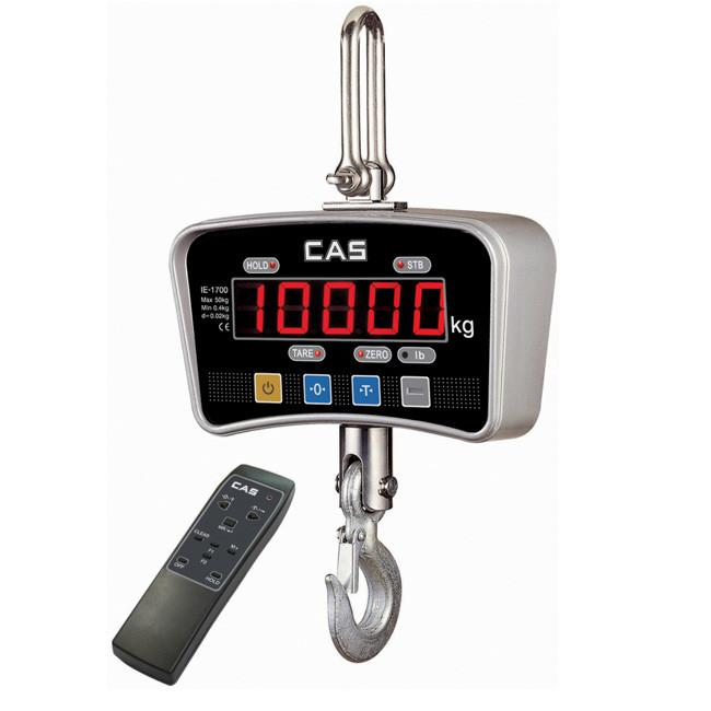 CAS IE 700 Crane Scale->IE-1000 / 1 Ton / 0.5 Kg