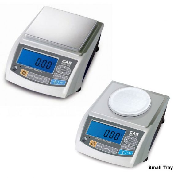 CAS MWP Precision Balances small tray