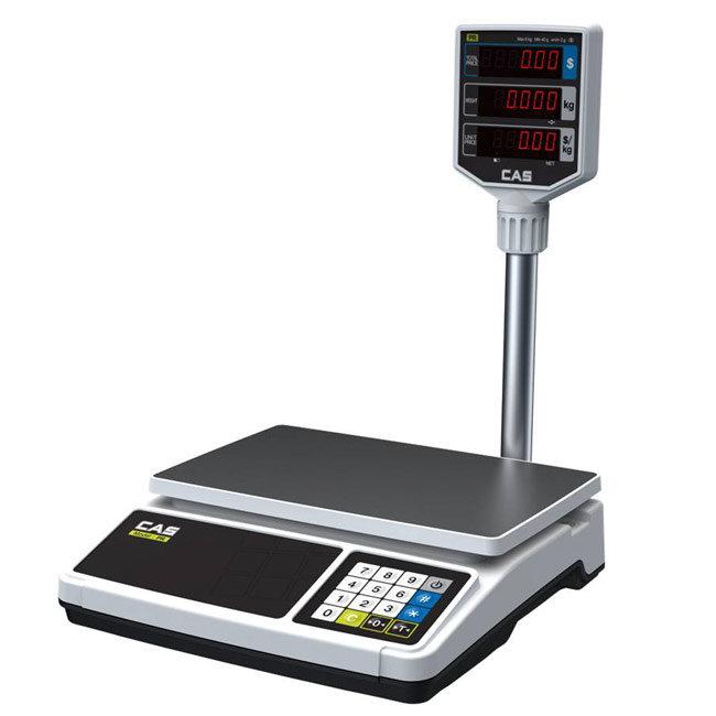 CAS PR Price Computing Scale->PR-30 / 15 - 30 Kg / 5 -10 gm