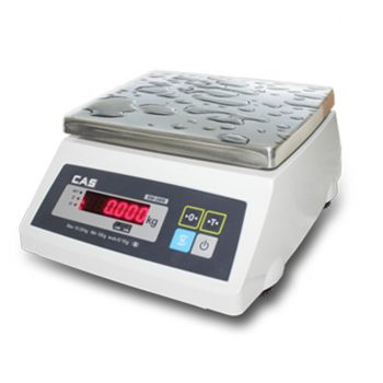 CAS SW-1WR Water proof Scale->SW-1W-30 / 15 - 30 Kg / 5 - 10 gm