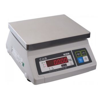 CAS SW-LR Basic Scale->SW-LR-30 / 15 - 30 Kg / 5 - 10 gm
