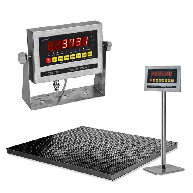 SENS LP7510 Floor Scale->LP7510-1212-5 / 1.2x1.2 m / Min 5 Kg to Max 5 ton / 500 gm
