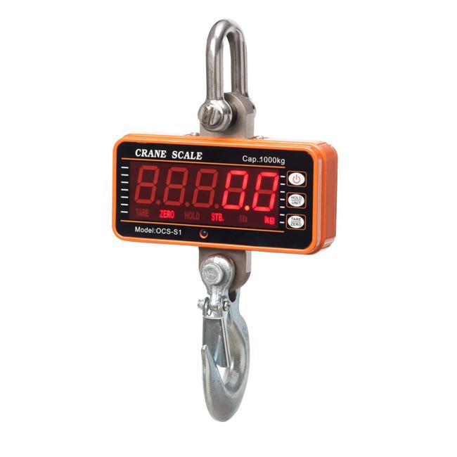 SENS OCS – S1 Compact Crane Scale->OCS-05-S1 / 500 Kg / 0.2 Kg