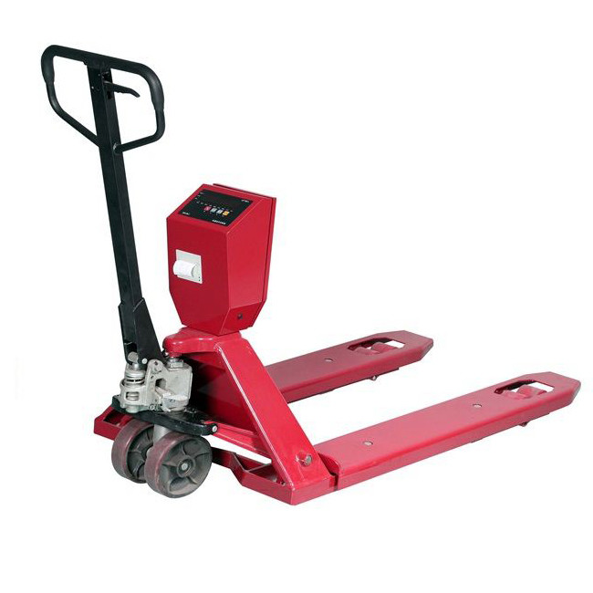 SENS PL25 Pallet Jack Scale with Printer->PL-25 / 1150 x 550 mm / Up to 2500Kg / 500 gm