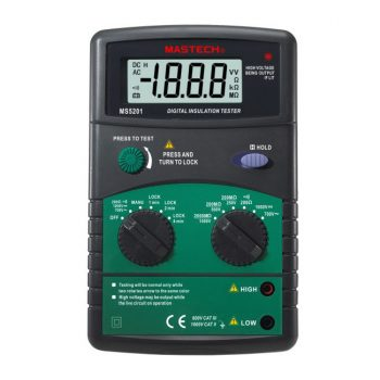 Mastech MS5201 Digital Insulation Tester
