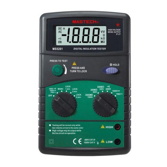 Mastech MS5201 Digital Insulation Tester