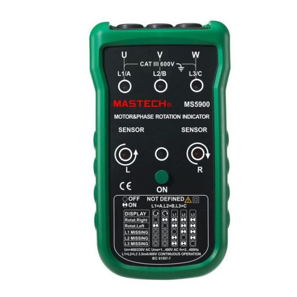 Mastech MS5900 Motor & Phase Rotation Indicator