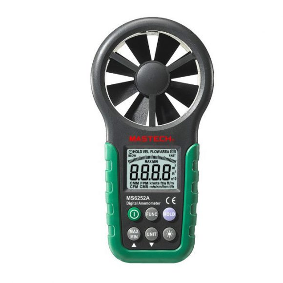 Mastech MS6252A Digital Anemometer