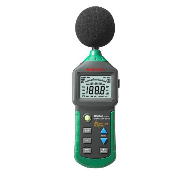 Mastech MS6701 Digital Sound Level Meter