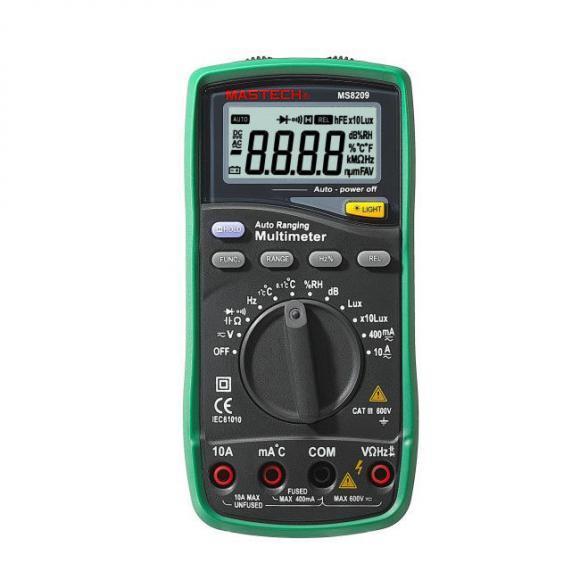 Mastech MS8209 Digital Multimeter