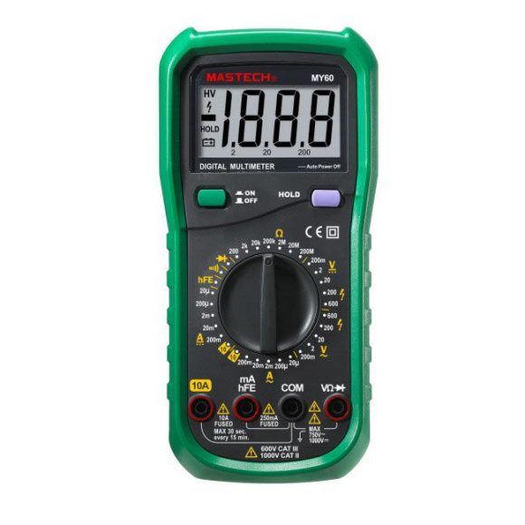 Mastech MY60 Digital Multimeter
