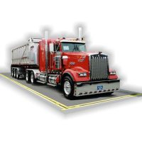 Weighbridge and Trucks